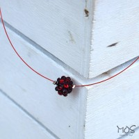 ΚΟΛΙΕ PC RED SWAROVSKI